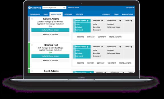 Careerplug website screenshot
