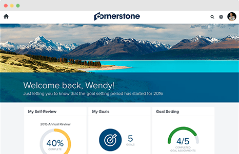 Cornerstone OnDemand application tracking systems