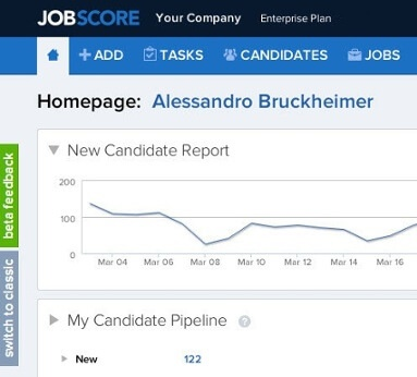 Jobscore applicant tracking system