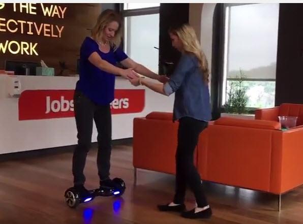 lisa cummings hoverboard