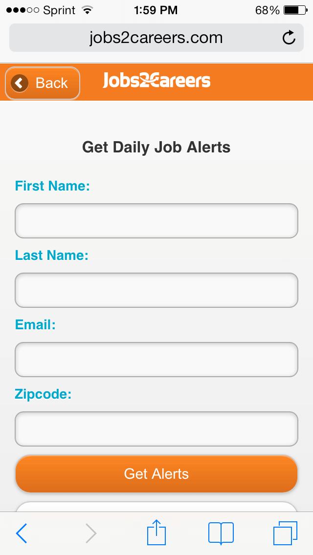 Jobs2Careers Daily Job Alerts