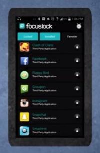 Focus Lock, productivity app