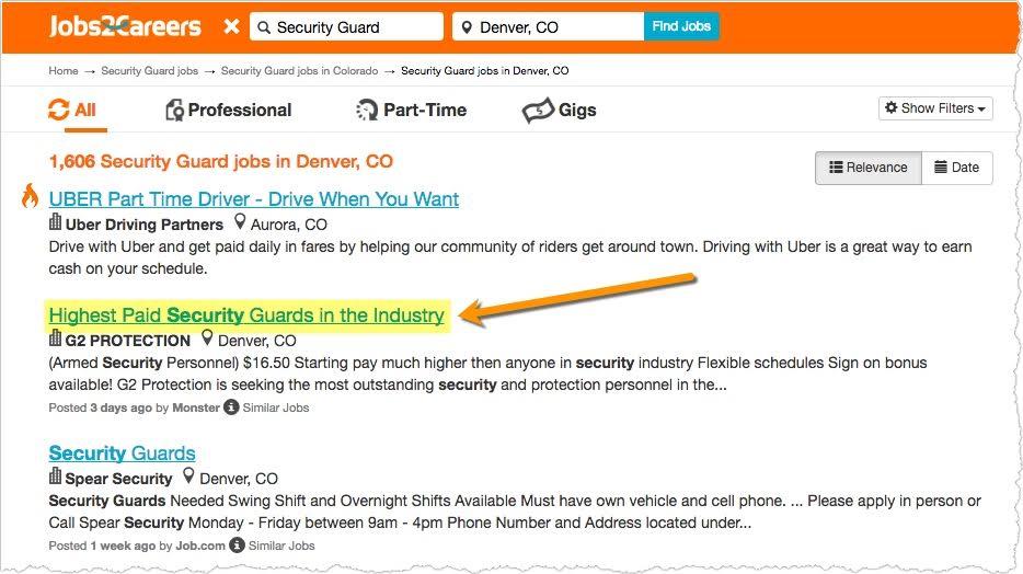 Security Guard Job Description