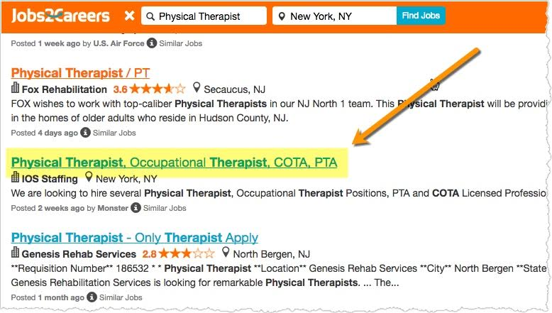 Occupational Therapist Job Description