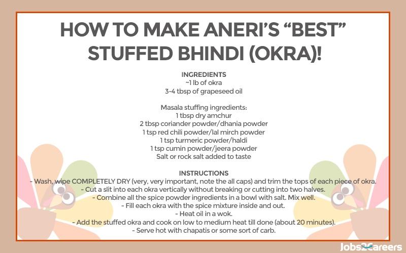 Aneri's stuffed okra
