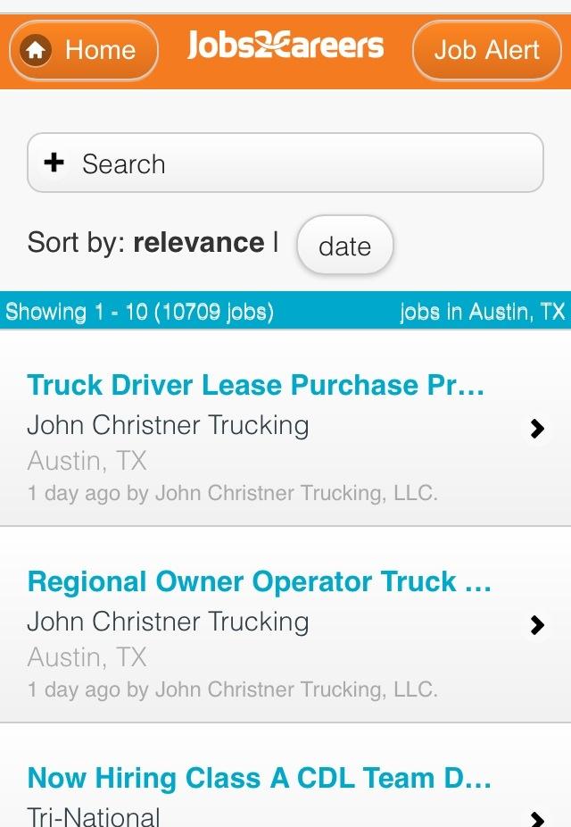Jobs2Careers Mobile Site