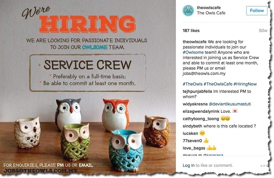 Visual Job Postings