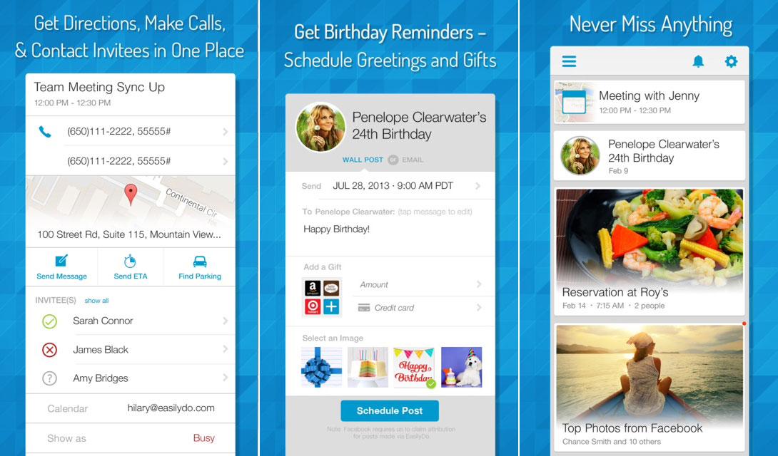 easilydo, Productivity App