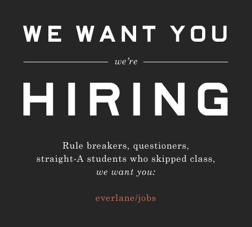 hiring ad
