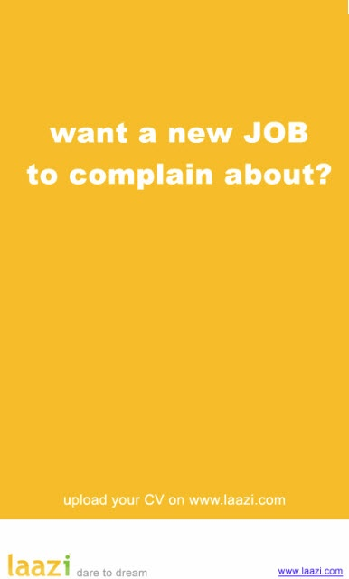 new job to complain about