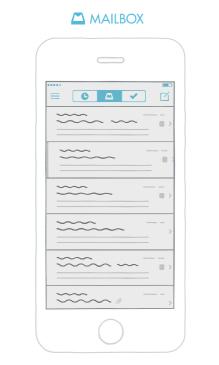 Mailbox, productivity app